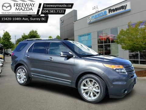 2015 Ford Explorer LIMITED  - Leather Seats -  Bluetooth - $218 B/W