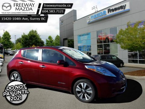 2017 Nissan Leaf SV   - Skip the Pump! - Navigation - Bluetooth - $66 Weekly