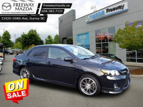 2012 Toyota Corolla S - Power Windows - Power Doors - $78 B/W FWD Sedan