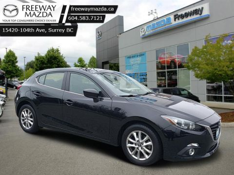 2015 Mazda3 GS - Bluetooth - $113 B/W FWD Hatchback