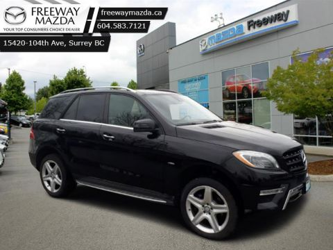 2012 Mercedes Benz M-Class ML 350 BLUETEC  - $182 B/W