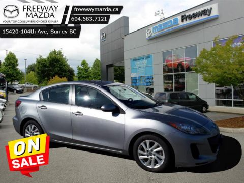 2013 Mazda Mazda3 GX   - Remote Keyless Entry - $95 B/W -