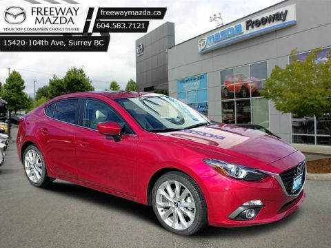 2016 Mazda Mazda3 GT   - Aluminum Wheels - Low Mileage - Sunroof - Leather - $127 B/W