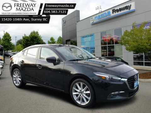 2017 Mazda Mazda3 GT  - Sunroof -  Heated Seats - $111 B/W