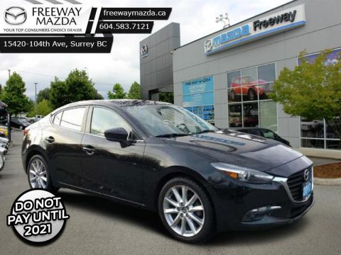 2017 Mazda Mazda3 GT  - Sunroof -  Heated Seats - $100 B/W