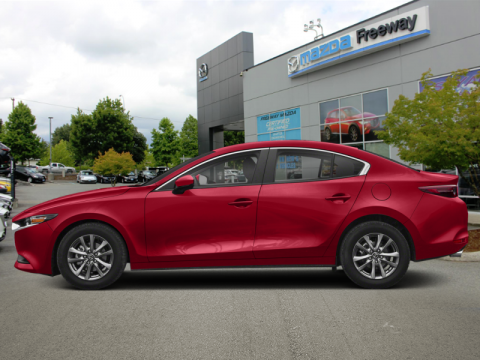 2019 Mazda Mazda3 GS Auto FWD  - Luxury Package - $187 B/W