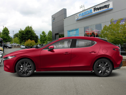 New 2020 Mazda3 Sport GT - Premium Package - $213 B/W AWD Hatchback