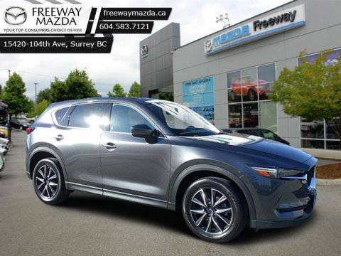 2017 Mazda CX-5 GT   - GT Tech Package - Sunroof -  Leather Seats - $191 B/W