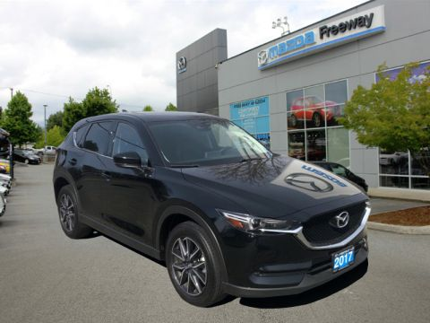 2017 Mazda CX-5 GT  - Sunroof -  Leather Seats - $192 B/W