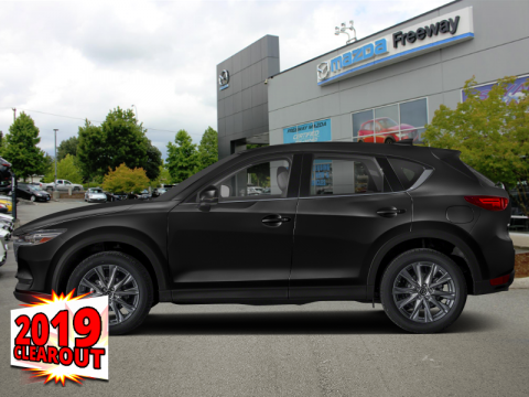 New 2019 Mazda CX-5 GT w/Turbo Auto AWD - Head-up Display - $239 B/W