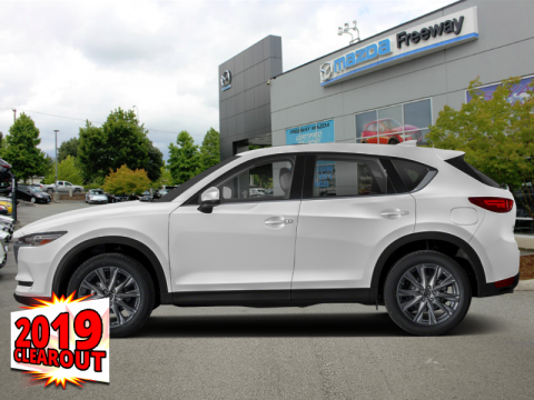 New 2019 Mazda CX-5 GT w/Turbo Auto AWD - Head-up Display - $242 B/W